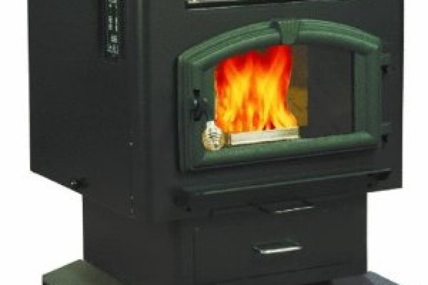 US Stove Company 6041 Multi-Fuel Pellet Stove with Legs
