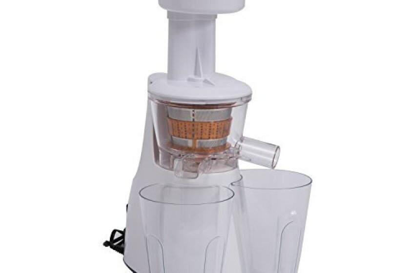 "HomCom 17"" 150W Masticating Fruit Extractor Slow Juicer"
