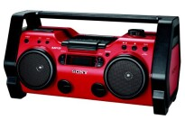 Sony ZSH10CP Portable Heavy Duty CD Radio Boombox Speaker System