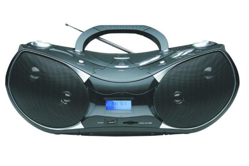 NAXA Electronics NPB-256 Portable AM/FM/MP3/CD Stereo Radio