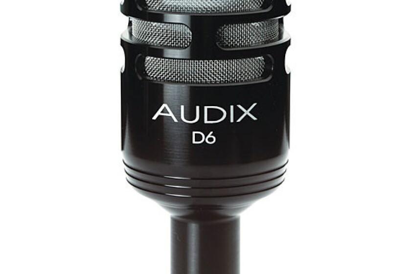 Audix D6 Cardioid Kick Drum Microphone