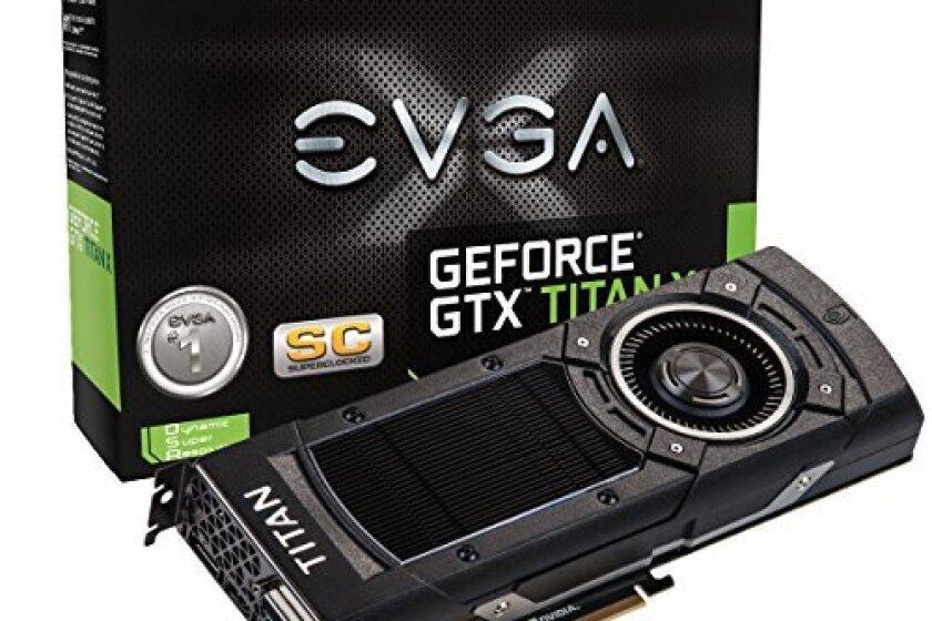 EVGA GeForce GTX TITAN X 12GB SC Gaming Graphics Card 12G-P4-2992-KR