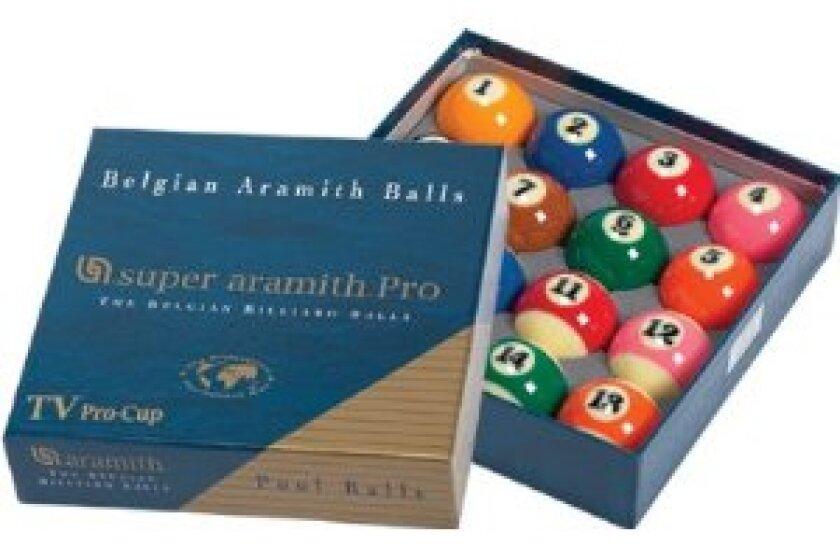 Aramith Super Pro Pool Balls