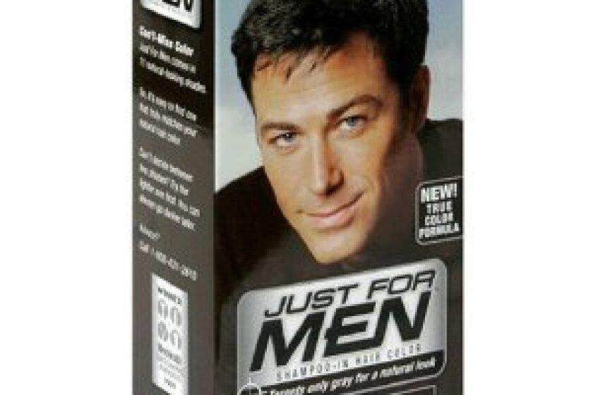只适合男人用洗发水染发