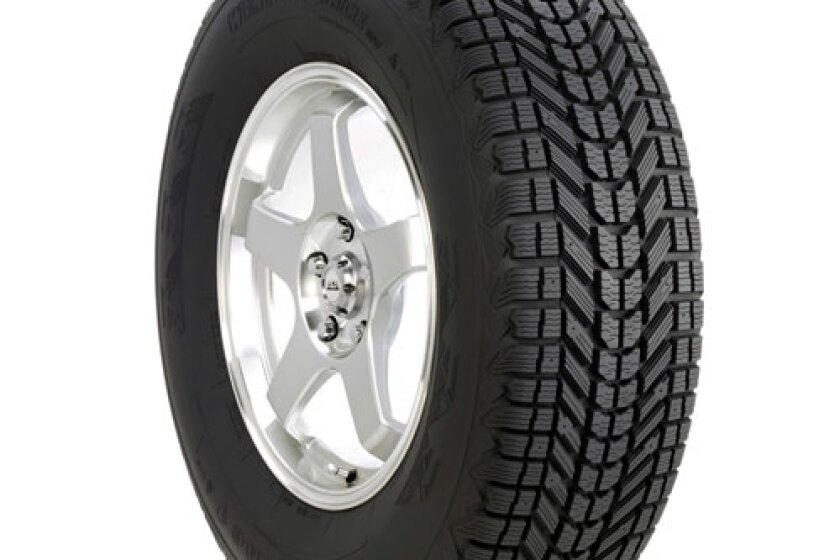 Firestone Winterforce UV Studded Winter Tires