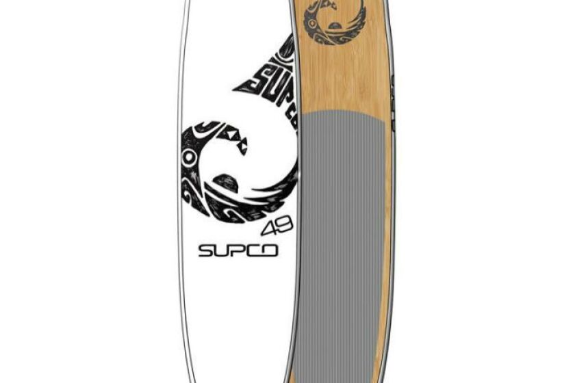 SUPCO Classic Bamboo All Around Stand Up Paddle Board