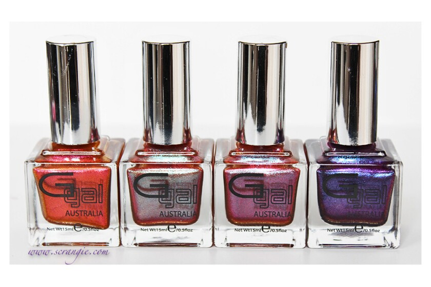 Glitter Gal Austrailia Shade Shifters Collection