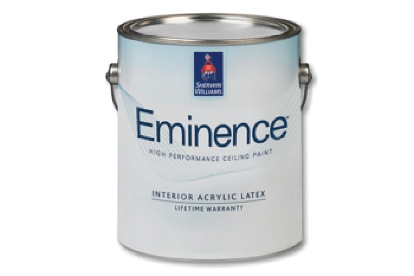 Sherwin-Williams Eminence High Performance Ceiling Paint