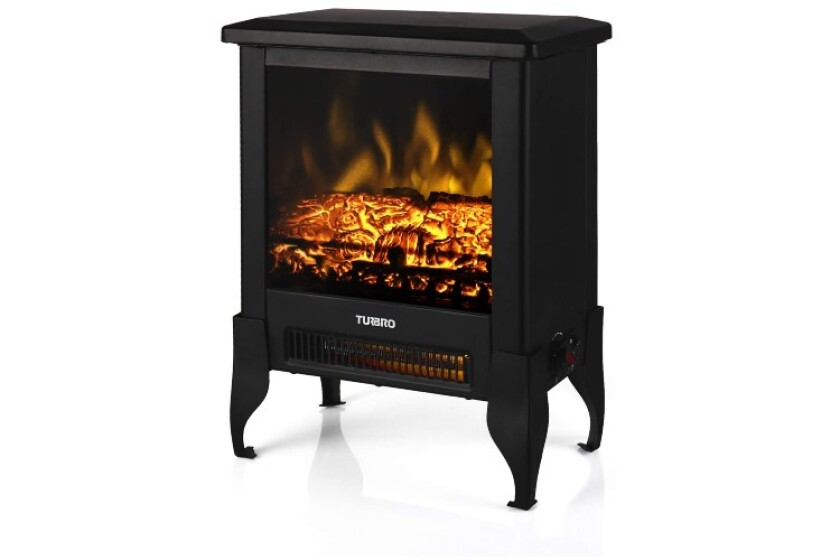 best TURBRO Suburbs TS17 Compact Electric Fireplace Heater, Freestanding Pellet Stove