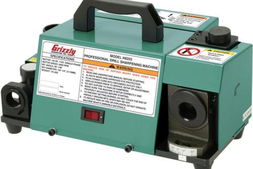 Grizzley H8203 Professional Drill Bit Sharpening Machine
