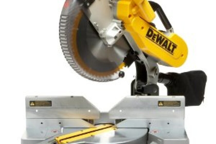 "Dewalt Heavy-Duty 12"" Double-Bevel Compound Miter Saw DW716"