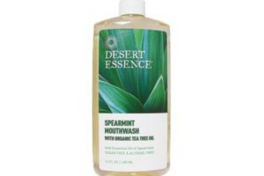 Desert Essence Tea Tree Oil Mouthwash Spearmint