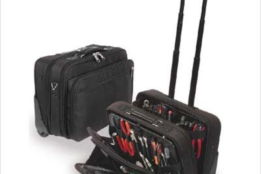 CH Ellis Wheeled Tool & Laptop Zipper Case