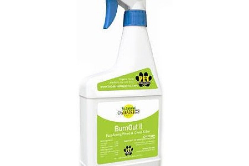 St Gabriel Organics 40025-5 Ready-To-Use Burnout Weed Killer/Repellent