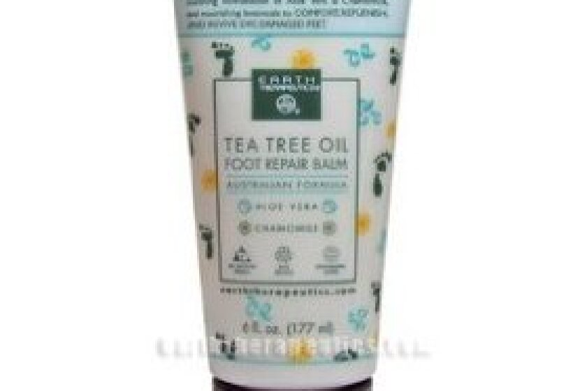 Earth Therapeutics Tea Tree Oil Foot Balm