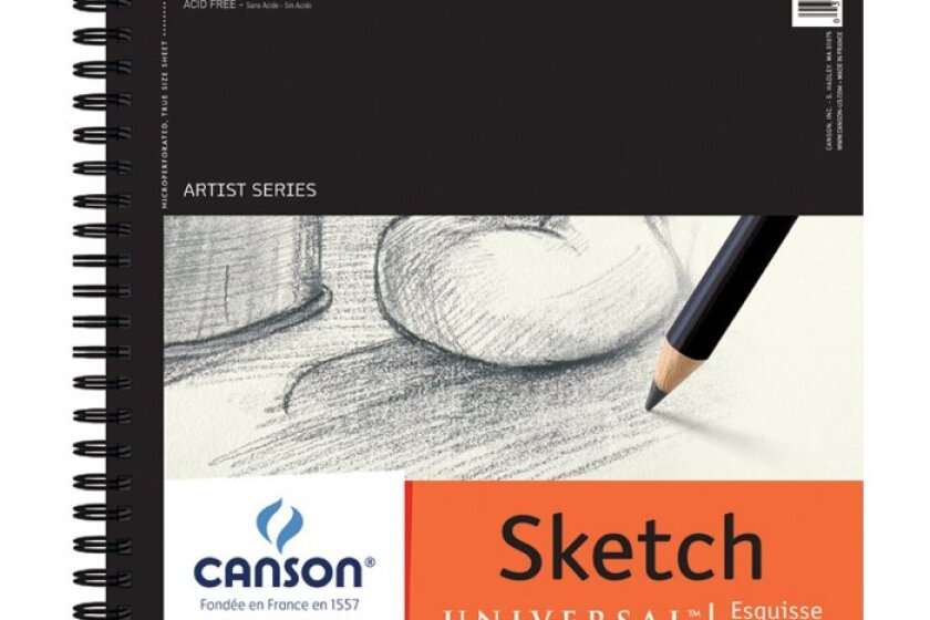 Canson Artist Series: Universal Sketch 65lb/96gsm Pad