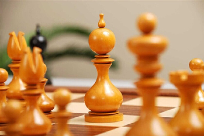 "House of Staunton Dublin Series Timeless 4.0"" Wood Chess Set"