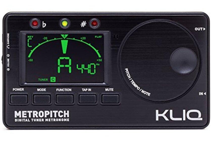 KLIQ MetroPitch Metronome Tuner