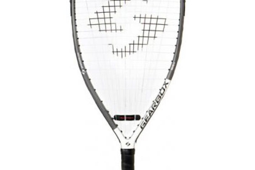 Gearbox '10 GB 250-165G White Accent Racquetball Racquet