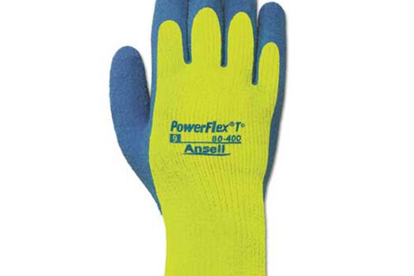 Ansell Power Flex T 80-400 Work Glove