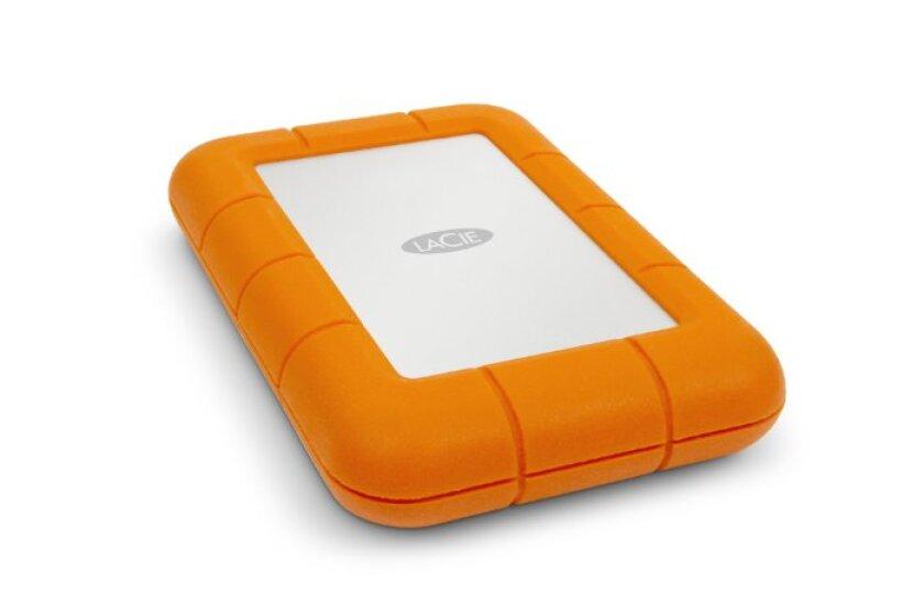 LaCie 256GB External SSD with USB 3.0 & Thunderbolt