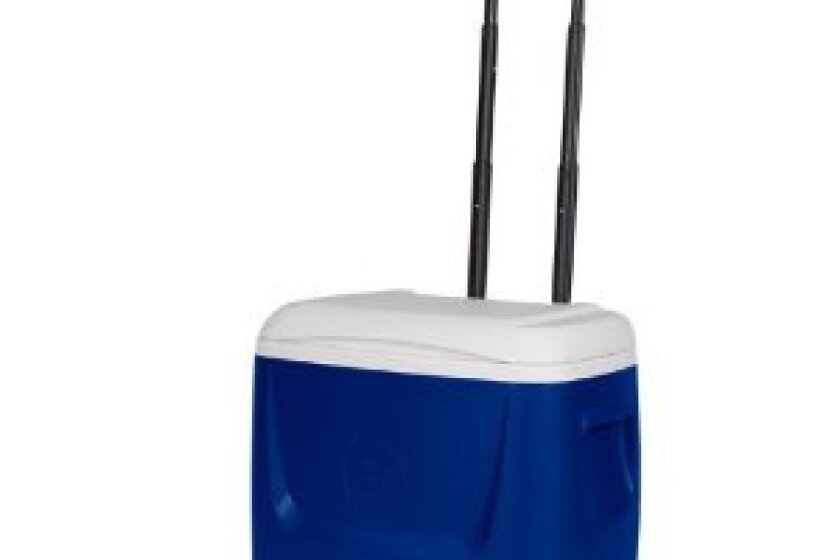 Igloo Island Breeze 28 Qt. Roller Cooler