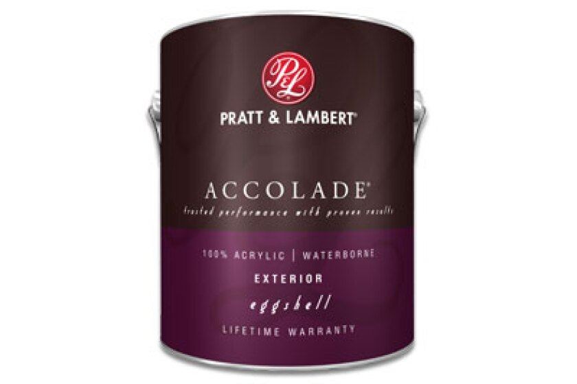 Pratt & Lambert Accolade 100% Acrylic Exterior Paint