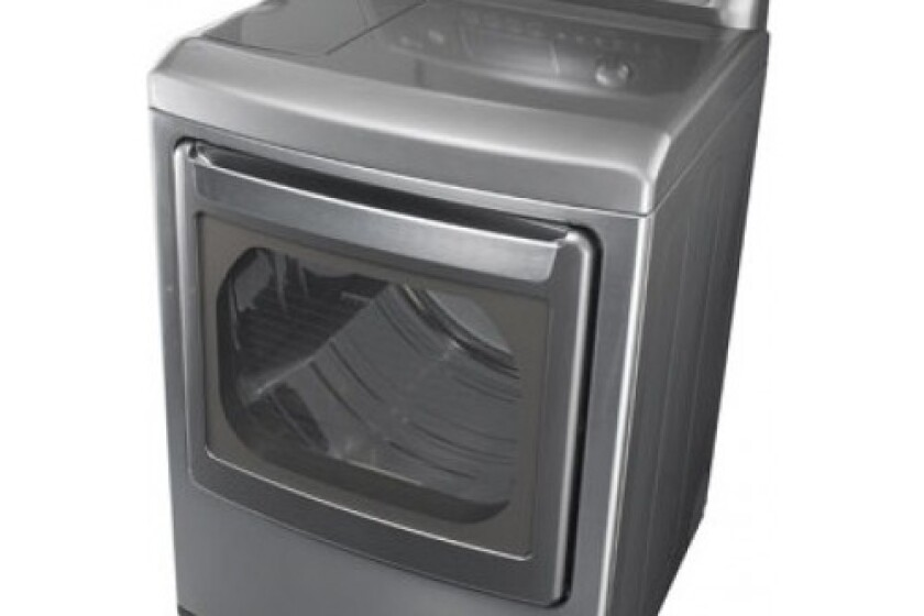 LG SteamDryer Series 7.3 Cu. Ft. Graphite Steel Gas Dryer - DX5171V