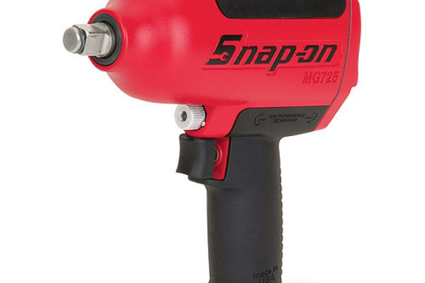 "Snap-on MG725L, 1/2"" Heavy Duty Air impact Wrench with Magnesium Housing"