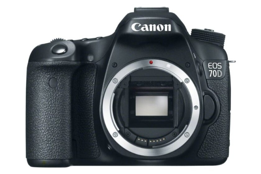 Canon EOS 70D 20.2 MP Digital SLR Camera