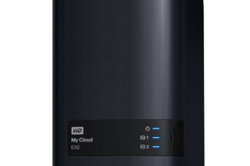 WD My Cloud EX2 Diskless Network Attached Storage - WDBVKW0000NCH-NESN