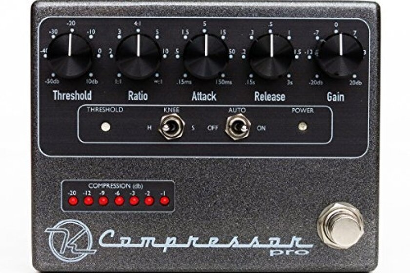 Keeley KCPro Compressor Pro Guitar Effects Pedal