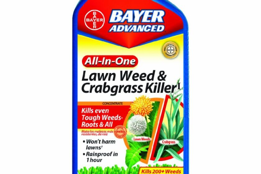 Bayer Advanced 704140A All-In-One Lawn Weed and Crabgrass Killer Concentrate