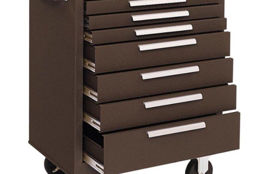 Kennedy 277XB, 27 Inch 7 Drawer Roller Cabinet
