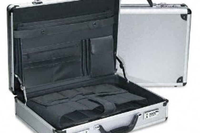 Bond Street Aluminum Computer Attache