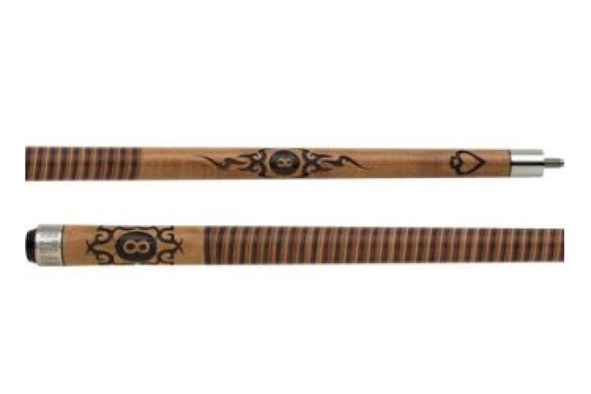 Outlaw OL29 Blow Torch Branded Pool Cue