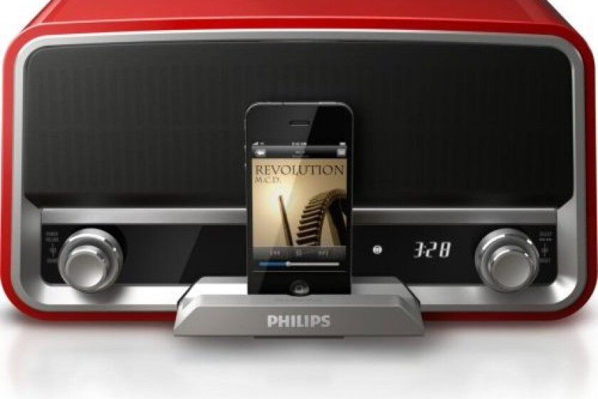 Philips Original Radio iPod Speaker Dock