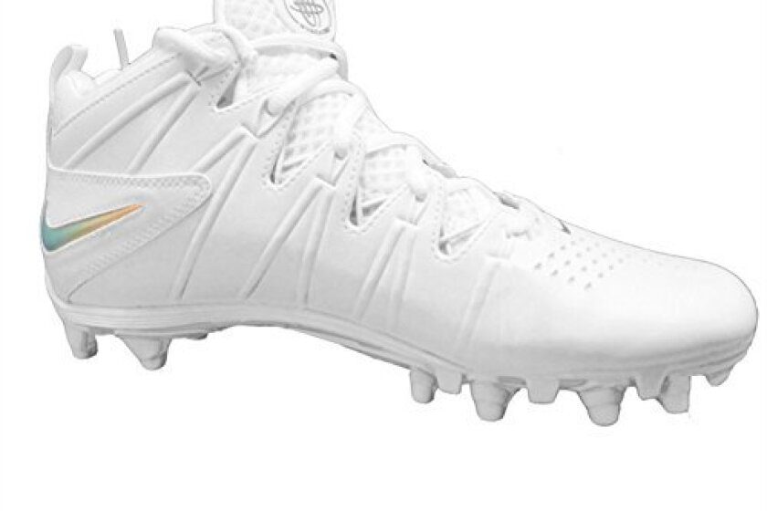 Nike Men's Huarache 4 LX LE Lacrosse Cleats