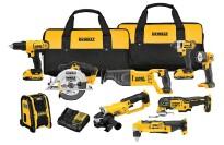 best 20v cordless tool combo kit