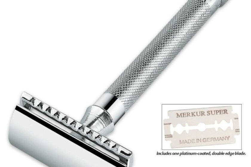 Merkur Model 180 Long Handled Safety Razor