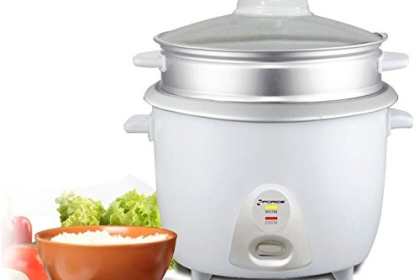 GForce GF-P1155-564 Professional Rice Cooker With Food Steamer