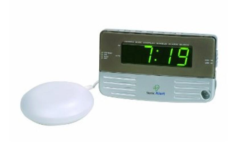 Sonic Alert Sonic Boom SB200SS Travel Alarm Clock
