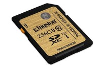 Kingston 256GB SDXC UHS-I U3 Memory Card