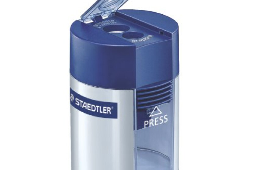 Staedtler Mars Tub Style Double-Hole Pencil Sharpener