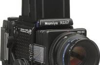 "Mamiya RZ67 Professional Pro II ""D"" Medium Format SLR Camera With Folding Waist Level Viewfinder"