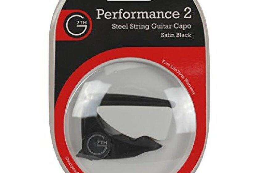 G7th G7C-P2BLK Performance 2 Guitar Capo
