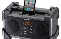 Craig Dual Alarm Industrial iPod/iPhone Docking Alarm Clock (CMB3228)