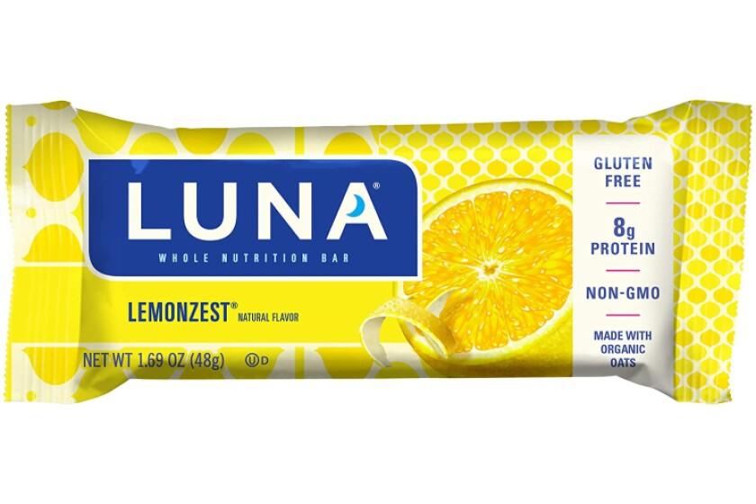 Best LUNA BAR - Gluten Free Snack Bars