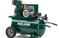 Rolair #6820K17, 2 HP Wheelbarrow Air Compressor