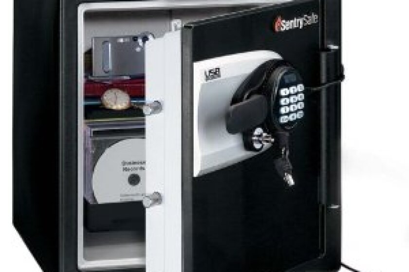 SentrySafe Fire-Safe Water-Resistant Safe with USB-Powered Connectivity QE4531